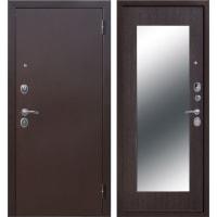 Дверь входная металлическая Царское зеркало Maxi, 960 мм, правая, цвет венге