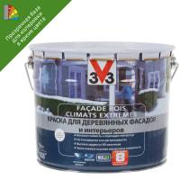 Краска для колеровки для деревянных фасадов V33 прозрачная база BC 9 л