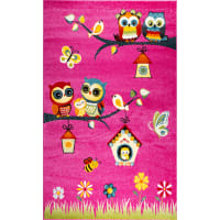 Ковёр Art Kids LM05, 1.5x2.3 м, цвет розовый