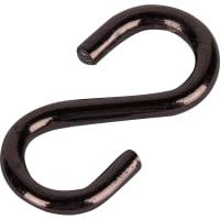 Крючок S-образный Standers 3 мм, цвет медь, 2 шт.