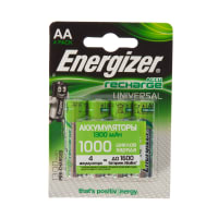Аккумулятор Energizer Univ NH15 BP4 Pre-Ch 1300 мА/ч, 2 шт.