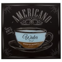 Картина на стекле 30х30 см «Американо»
