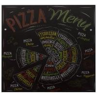 Картина на стекле 30х30 см «Пицца»