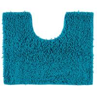 Коврик для туалета Crazy, 50x40 см, цвет голубой