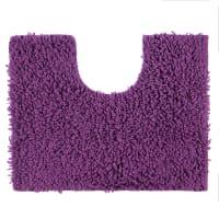 Коврик для туалета Crazy, 50x40 см, цвет фиолетовый
