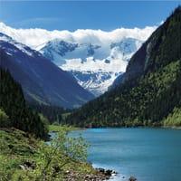 Фотообои флизелиновые «Озеро» 200х200 cм