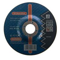 Круг зачистной по металлу Metabo, 125х6 мм