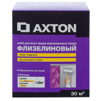 Клей для флизелиновых обоев Axton 30 м²