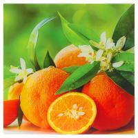 Картина на стекле 40х40 см «Апельсины»