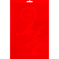 Трафарет декоративный «Ящерица» 20х29.5 см