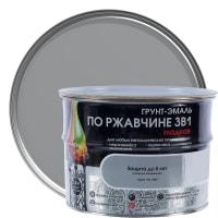 Грунт эмаль по ржавчине 3 в 1 гладкая Dali Special цвет серый 2.5 кг