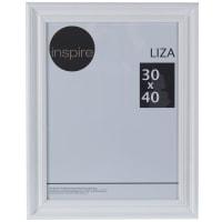 Рамка Inspire Liza 30х40 см цвет белый