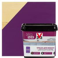 Краска для мебели V33 Decolab цвет фиалковый 0.75 л