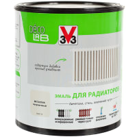Краска для радиаторов V33 Decolab цвет металлический 0.5 л