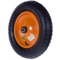 Колесо для тачки пневматическое Palisad 689843/689823, размер 3.00-8, диаметр втулки 16 мм. D360 мм.
