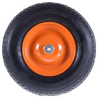 Колесо для тачки пневматическое Palisad 689833, размер 4.80/4.00-8, диаметр втулки 12 мм. D380 мм.