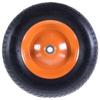 Колесо для тачки пневматическое Palisad 689833, размер 4.80/4.00-8, диаметр втулки 20 мм. D380 мм.