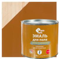 Эмаль для пола Простокраска цвет золотисто-коричневый 1.9 кг
