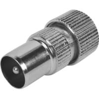 Штекер антенный металлический