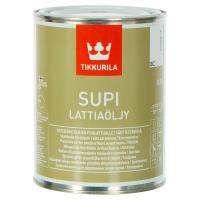 Масло для пола Tikkurila Supi Lattiaoljy бесцветная 0.9 л