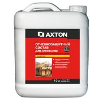 Состав огнебиозащитный Axton I-II группы бесцветный 10 кг