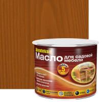 Масло для садовой мебели Akvateks DIY цвет тик 0.5 л