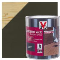 Масло для террас V33 цвет антрацит 2.5 л