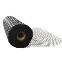 Сетка строительная базальтовая 25x25 мм, 25 м
