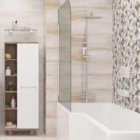 Плитка наcтенная «Шервуд» 20х40 см 1.58 м2 цвет бежевый