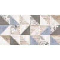 Плитка наcтенная «Шервуд» 20х40 см 1.58 м2 цвет бежевый/голубой
