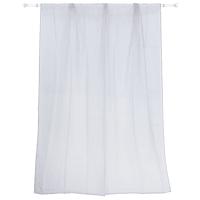 Тюль на ленте «Polyone» 140X260 см цвет серый