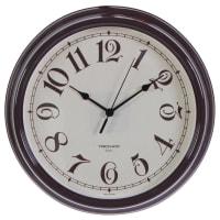 """Часы настенные """"Классика"""" цвет коричневый диаметр 30.5 см"""