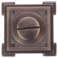 Фиксатор-вертушка для дверей Inspire, цвет бронзовый