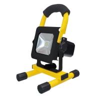 Прожектор светодиодный аккумуляторный Эра IP65 10 Вт 900 Лм цвет желтый