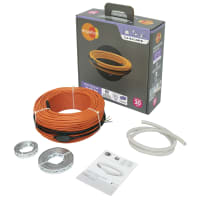 Нагревательный кабель для тёплого пола Equation 16 м², 2400 Вт