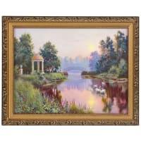 Картина в раме «Утренний парк» 30х40 см