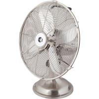Вентилятор настольный Equation 40 Вт 30 см, серебристый