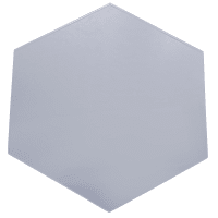 Плитка декоративная зеркальная «Соты» 6 шт. цвет графит