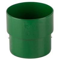 Соединитель желоба Dacha 80 мм зелёный