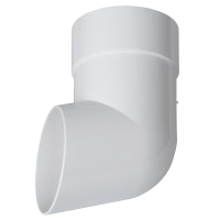 Слив трубы Dacha 80 мм белый