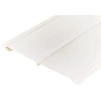 Панель виниловая 2700х195x12 Белый ясень 0.53 м²