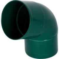 Отвод соединения трубы 67/80 цвет зеленый