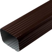 Труба водосточная 76х102х2000 мм цвет коричневый