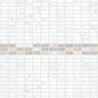 Комплект панелей ПВХ Каррара 8 мм 2700х250 мм 2.7 м² 4 шт