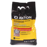 Клей для камня Axton 5 кг цвет серый