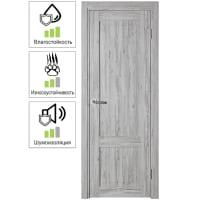 Дверь межкомнатная глухая Рустик 70x200 см цвет северная сосна