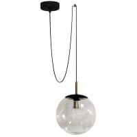 Подвесной светильник Аура D250 1хЕ27х60 Вт цвет чёрный