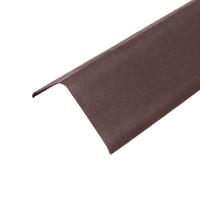Щипец черепица ондулин цвет коричневый