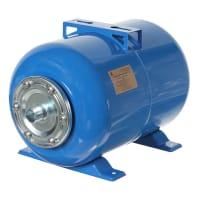 Гидроаккумулятор горизонтальный 24 л, фланец оцинкованная сталь