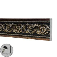 Молдинг настенный полистирол Decomaster 156-57 золотой 1.1х5х200 см